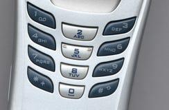 Llaves del teléfono celular Foto de archivo
