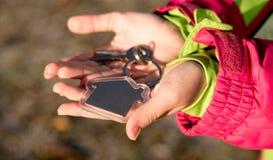 Claves a disposición Imagen de archivo libre de regalías