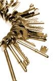 Claves en el anillo Fotos de archivo libres de regalías