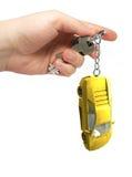 Claves en una mano Fotografía de archivo libre de regalías