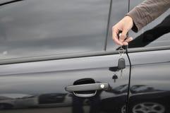 Claves masculinos del coche de HOL Imágenes de archivo libres de regalías