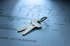 Claves para los planes caseros ideales Imagenes de archivo