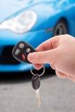 Claves y telecontrol del coche Fotografía de archivo libre de regalías