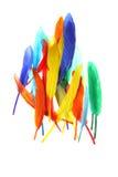 clavettes colorées Photographie stock libre de droits