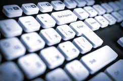 Clavier Photographie stock