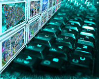 Clavier Photos stock