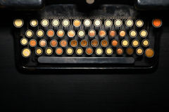 Clavier d'amour Photographie stock