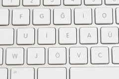 Clavier d'ordinateur photo stock