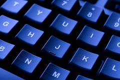 Clavier d'ordinateur photographie stock