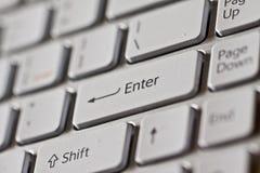 Clavier d'ordinateur Photo libre de droits