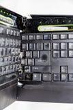 Clavier d'ordinateur cassé Image libre de droits