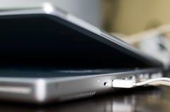 Clavier d'ordinateur portatif Photo stock