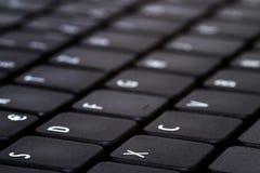 Clavier d'ordinateur portatif image stock