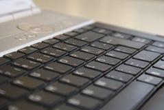 Clavier d'ordinateur portatif Images stock