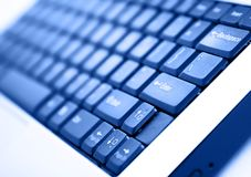 Clavier d'ordinateur portatif Photo libre de droits