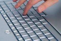Clavier d'ordinateur portatif photos libres de droits