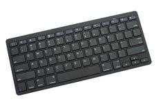 Clavier d'ordinateur sans fil de Bluetooth Photos stock