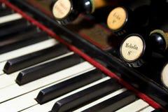 Clavier d'organe photos stock