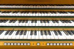 Clavier d'organe photos libres de droits