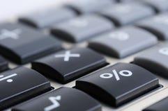 Clavier de calculatrice Images libres de droits