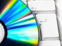 clavier de dvd Photos libres de droits