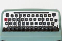 Clavier de machine à écrire Photos stock