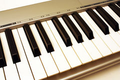 Clavier de musique Photos stock