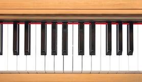 Clavier de piano Photos stock
