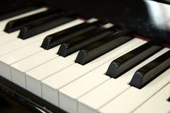 Clavier de piano Images libres de droits