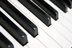Clavier de piano photos stock