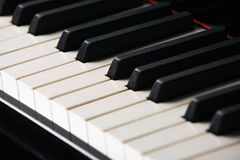 Clavier de piano photo libre de droits
