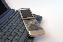 Clavier de téléphone et d'ordinateur Images stock
