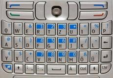 Clavier de téléphone portable. Images libres de droits