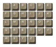 clavier de touche d'ordinateur Photo stock