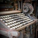 Clavier de vintage Photographie stock libre de droits