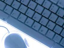Clavier et souris photo libre de droits