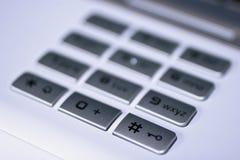 Clavier numérique avec la clé d'informations parasites Images libres de droits