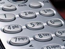 Clavier numérique de téléphone Photographie stock
