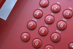 Clavier numérique de téléphone Images libres de droits