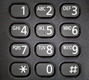 Clavier numérique générique de téléphone. Photo stock