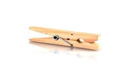 Clavija de madera Fotografía de archivo libre de regalías