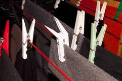 Clavija de ropa Imagen de archivo libre de regalías
