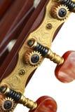 Clavijas de la guitarra Imagen de archivo libre de regalías