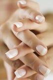 Clavos del dedo Imagenes de archivo