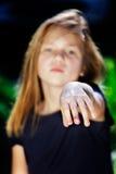 Clavos penetrantes del niño Imagen de archivo