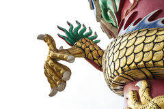 Claw dragon. With white sky royalty free stock photo
