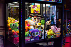 Claw game machine Stock Photo