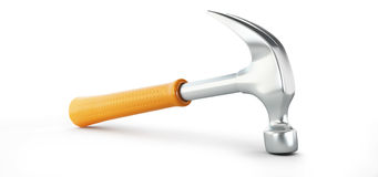 Claw hammer 3d Illustrations Stock Image