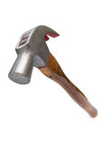 Claw hammer in midair Stock Images