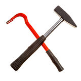Claw and hammer Royalty Free Stock Images